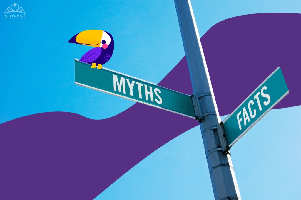 The truth behind these 4 myths about cleaning services.
